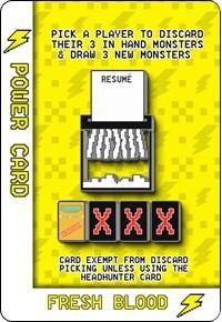 Fresh Blood - Power Card