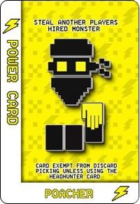 Poacher - Power Card